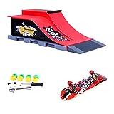 Mini-Skateboard-Rampe Und Zubehör-Set E #