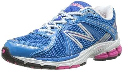 New Balance Womens W780BW3 Blue/White Running Shoes 9 UK, 43 EU
