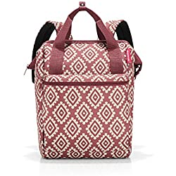 Reisenthel Allrounder R Rucksack, 40 cm, 12 L, Diamonds Rouge