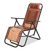 LCTCDD La chaise de patio inclinable extérieure pliante surdimensionnée de patio de...