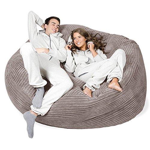Lounge Pug® - CORD - GIANT Bean Bag SOFA - MEGA MAMMOTH - Beanbag ... c338330cc9d21