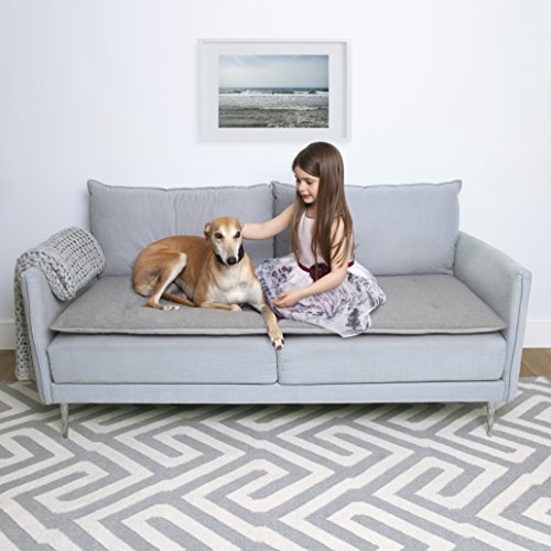 The Lounging Hound Lounge-Hound und die Luxus Pet Wolle Wasserdicht Sofa Topper