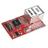 Laqiya Mini W5100LAN Ethernet Shield Netzwerk Modul Board für Arduino 3,3V SPI unterstützt TCP/IP