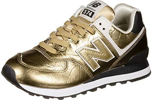 New Balance 574v2, Zapatillas Mujer, Dorado Gold Gold