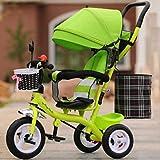Babywagen Kinderdreirad männliches und weibliches Babyfahrrad / 1-2-3-6-jähriger Kindfahrrad-Babylaufkatze. FAHRRAD ( Farbe : A4 )