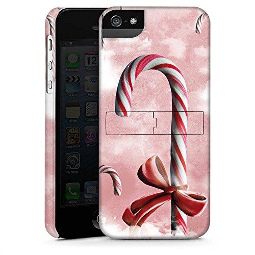 Apple iPhone X Silikon Hülle Case Schutzhülle Süßigkeiten Candy Himmel Premium Case StandUp