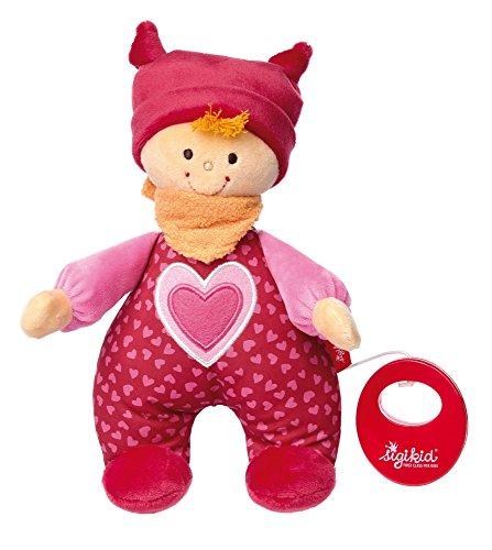 sigikid, Mädchen, Spieluhr Püppchen, sigidolly, Rosa, 41482
