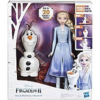 Hasbro Disney Frozen-E5508103 Elsa Telecomanda Olaf per Farlo Parlare e Ballare (Italiano), Multicolore, E5508103