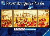 Ravensburger 19994 - Puzzle tríptico (1000 piezas), diseño de amapolas en La Toscana