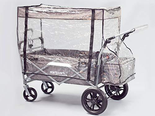 Starkwerk Regenschutz für faltbaren Bollerwagen