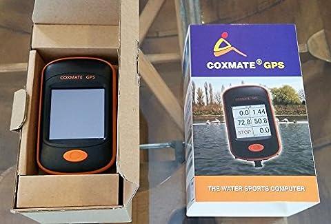 Sports nautiques ordinateur GPS–POUR aviron Mini Handheld GPS Navigator pour extérieur de voyage, sport, randonnée, cyclisme et aventure–Appareil pour sports nautiques et de montage en bateau
