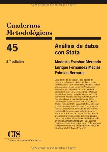 Análisis de datos con Stata (Cuadernos Metodológicos) por Modesto Escobar Mercado
