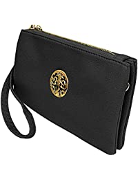 c32862865fd3 Small Clutch Bags with Wristlet and Long Adjustable Strap - Packaged With  FREE Elegant Tiana Marie