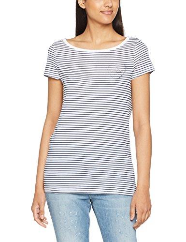 esprit-damen-t-shirt-057ee1k038-mehrfarbig-bright-blue-410-44-herstellergrosse-xxl