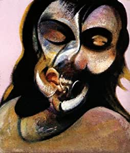 Reproduction 60 x 75cm - francis bacon - study of henrietta moraes laughing, 1969 -