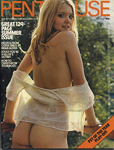 Penthouse Magazine Summer 1974 Volume 9 Number 3 Erotica From Outer Space Edition