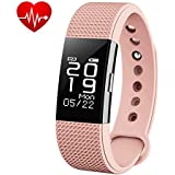 Bingo F2 Waterproof Silicon Smart Fitness Band For All Android & Ios Devices (PINK)
