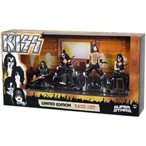 "Kiss Superstars - Limited Edition Band Set 4"" Figure"