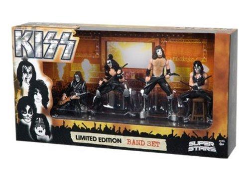 The Promotion Factory Kiss: Set 4Figuren (Gene Simmons Figur)