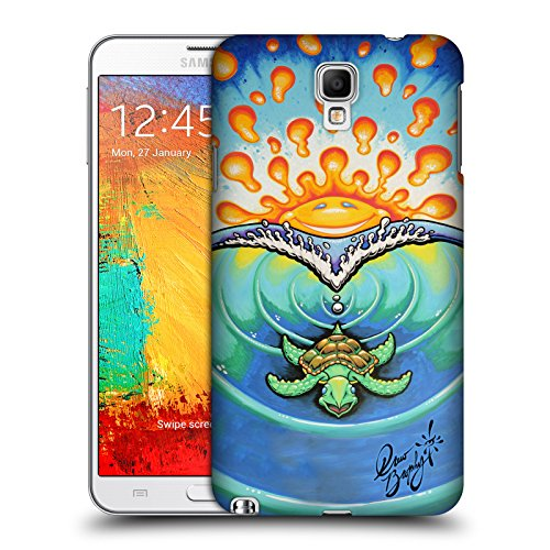 Offizielle Drew Brophy Kleine Turtle Surf-Kunst 2 Ruckseite Hülle für Samsung Galaxy Note 3 Neo