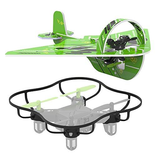 TaoTronics Mini Quadcopter 2.4GHz RC Drohne Flugspielzeug, 2-in-1 Duale Gleit- & Quadcopter-Drohne (Rc Quadcopter Drohnen)