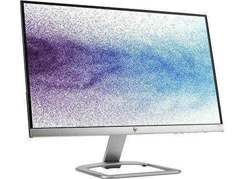 HP 21.5 inch (54.6 cm) Edge to Edge LED Monitor - Full HD, IPS Panel with VGA, HDMI Ports - 22ES (Silver/Black)