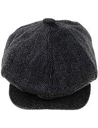 IPOTCH Sombrero de Visera Mezcla de Lana Gorra Francesas Boina Vasca para Otoño  Invierno de Mujer 9c56ff98ae1