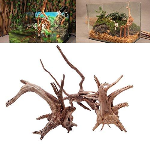 UEETEK Driftwood rama natural decoraciones acuario