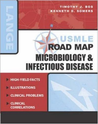 USMLE Road Map: Microbiology & Infectious Disease: Microbiology and Infectious Diseases (Lange Basic Science) by Timothy J. Bos (2004-12-01) par Timothy J. Bos;Kenneth D. Somers