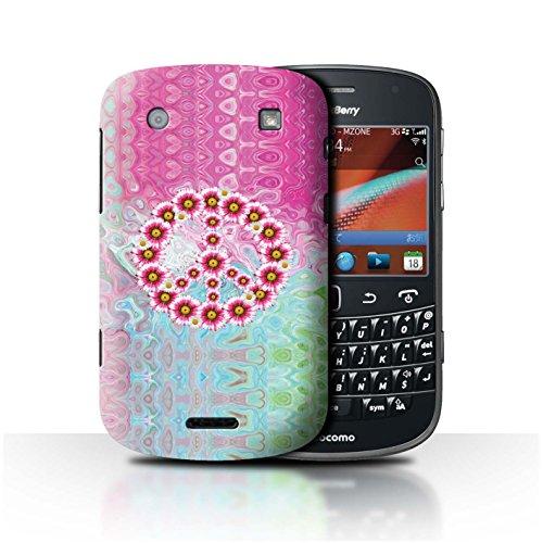 Stuff4® Hülle/Case für BlackBerry Bold 9900 / Krawatte Farbstoff Marmor Muster/Hippie Hipster Kunst Kollektion -