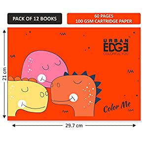 Urban Edge Drawing Book 60 pages (Pack of 12)