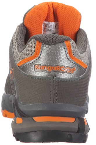 KangaROOS Equire 31561/529, Scarpe sportive outdoor unisex adulto Nero (Schwarz (blk/blei/brightapricot))