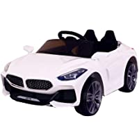 iOS Electric Ride on Car for Kids with Rechargeable 12V Battery, Music, Lights Baby Toy Cars with RC Controlled Motor…