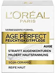 L'Oréal Paris Dermo Expertise Age Perfect mit Soja Substanz Augenpflege, 1er Pack (1 x 15 ml)