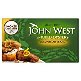John West Geräucherte Austern In Sonnenblumenöl (85 G)