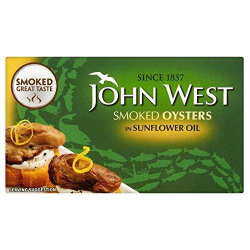 John Ouest Fumé Huîtres Dans L'Huile De Tournesol (85G)