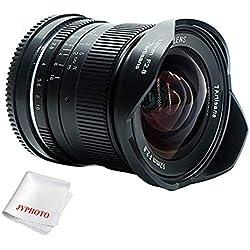 7artisans 12mm f2,8 APS-C manuelle Objectif pour appareil photo Fuji x Mount ainsi que de A10 X A1 X X-A2 X-at X-M1 XM2 X-T1 A3 X X/T10 x T2 X-T20 X-Pro1 Pro2 X X-E1, X-E2, e2s