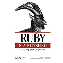 Ruby In A Nutshell 1st edition by Yukihiro Matsumoto (2001) Taschenbuch