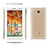 "[Elephone Official Store] ELE Elephone S3 Lite 4G Senza Cornice Smartphone Android 5.1(pollice 5.2"", Macchina Fotografica 13 Mp, 16 GB ROM, Quad-Core MTK6735 1.3 GHz, 2GB RAM) Oro"