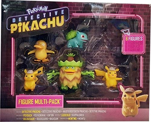 Detective Pikachu Battle Figuren Multipack (6-Pack)