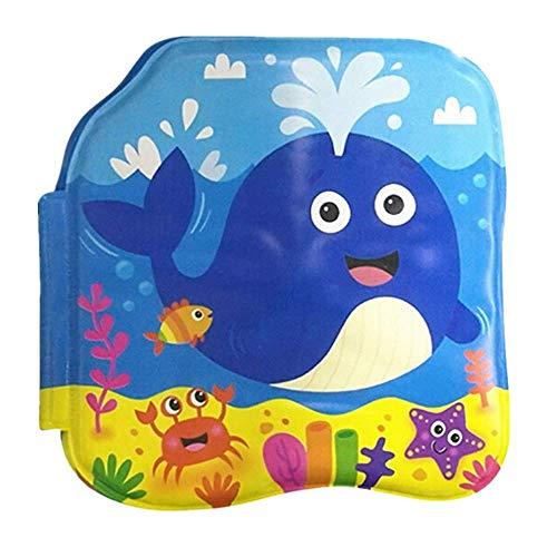 Sulifor Baby frühe Bildung Wal Badebuch Wasserspielzeug, Badebücher, Baby pädagogische Spielwaren, intellektuelle Entwicklung, Eva schwimmende kognitive Buch