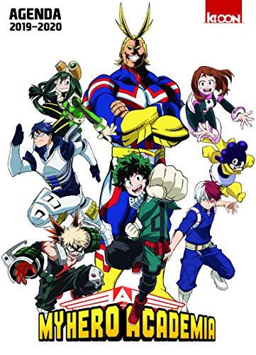 Agenda My Hero Academia 2019-2020 par Kohei Horikoshi
