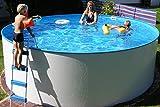 Basic Schwimmbecken-Set rund von Summer Fun, inkl. Sandfilteranlage, Malediven. Ø ca. 450 cm. H ca. 120 cm