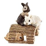 Schleich 13748 - Spielende Kaninchenjungen