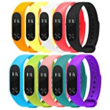 Felix MI Band 2 Replacement Band Strap for MI 2 Fitbit (Colour may vary) (1 pieces)