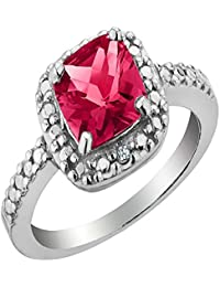 AG New Collection .925 Sterling Silver and Diamond Kirti Ring