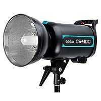 Godox QS-400400WS Wireless Speed Studio Flash aydınlatma lamba Strobe kafa Monolight Photo-220V