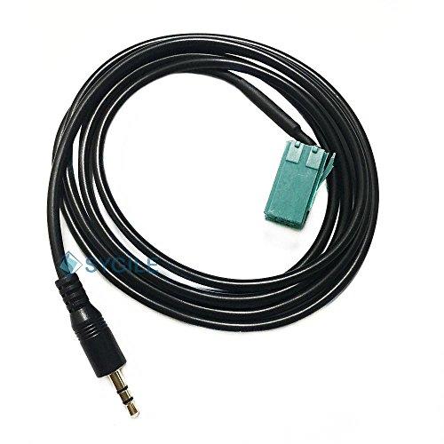 Preisvergleich Produktbild sygile in Auto männlich 3,5mm AUX Input Adapter Audio Kabel für Renault Espace Kangoo Trafic Clio Megane Laguna Scenic 2005–2011