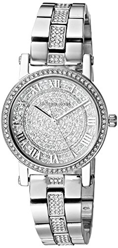 Michael Kors Damen Analog Quarz Uhr mit Edelstahl Armband MK3775