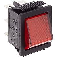 Vs Electronic 300011 - Interruptor basculante, 202 1 A1, 2xUM 6 pines